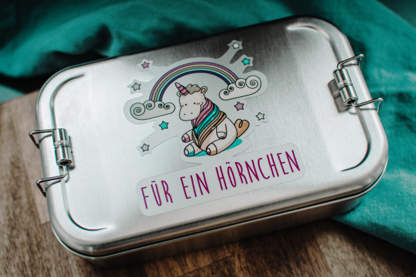 "Brotbüchse ""Hörnchen"" - Edelstahl"