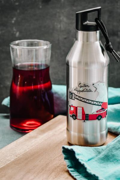 """Trinkflasche """"Guten Appetütata"""" - Edelstahl, doppelwandig"""