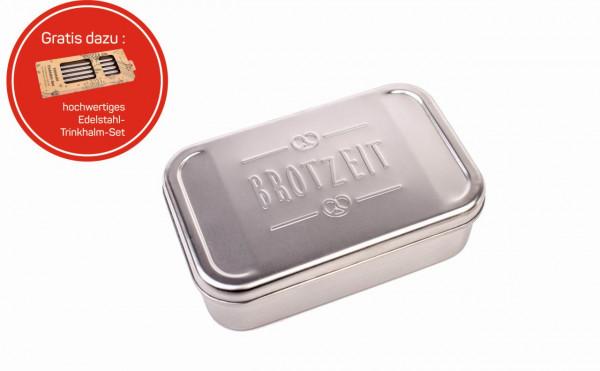Edelstahl Lunchbox Brotzeit