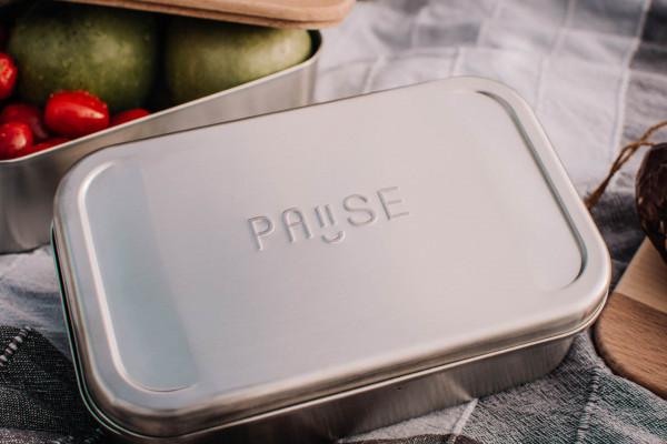 Premium Pause aus Edelstahl