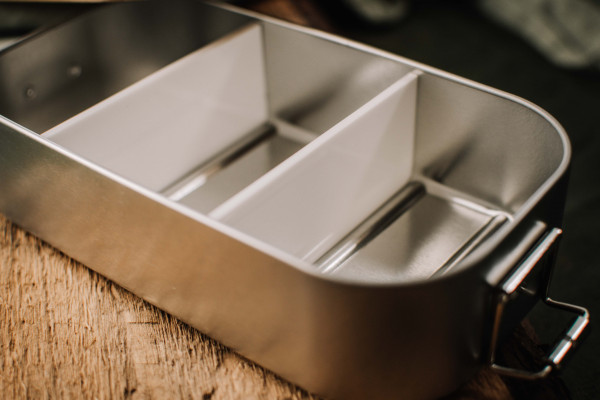 Trennwand Standard aus Kunststoff für tindobo Brotdosen - Standardgröße