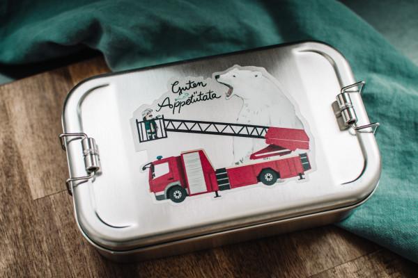 "Lunchbox ""Guten Appetütata"" - Edelstahl"