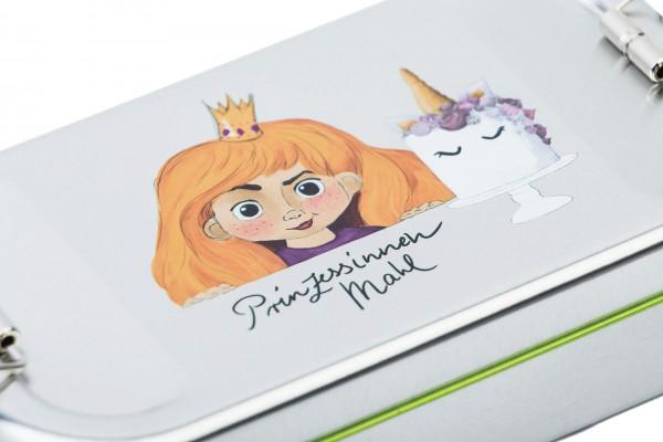Brotdose Prinzessin mit blonden Haaren
